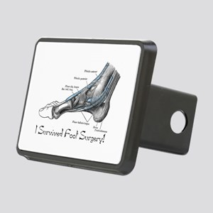 I Survived Foot Surgery! Rectangular Hitch Cover