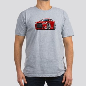 Charger SRT8 Red Car Men's Fitted T-Shirt (dark)