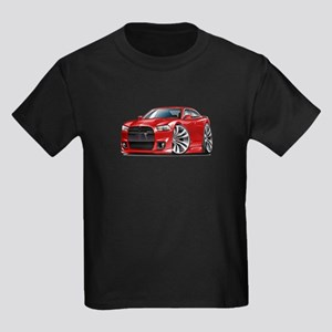 Charger SRT8 Red Car Kids Dark T-Shirt