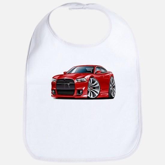 Charger SRT8 Red Car Bib
