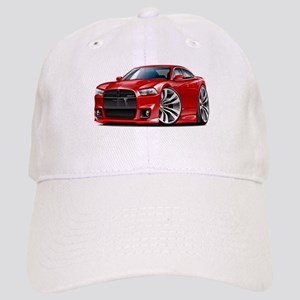 Charger SRT8 Red Car Cap