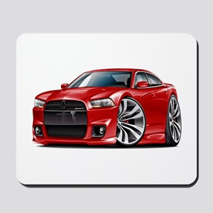 Charger SRT8 Red Car Mousepad