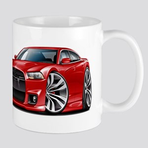 Charger SRT8 Red Car Mug
