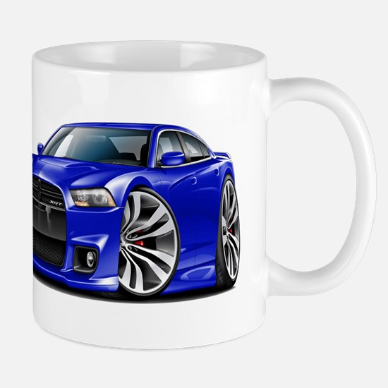 Charger SRT8 Blue Car Mug