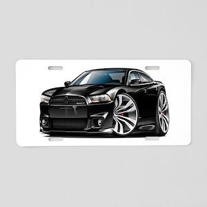 Charger SRT8 Black Car Aluminum License Plate