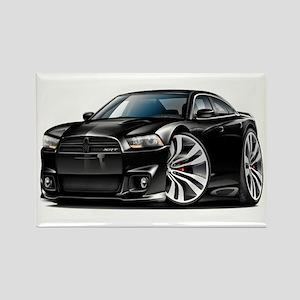Charger SRT8 Black Car Rectangle Magnet
