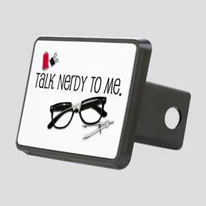Talk Nerdy To Me Rectangular Hitch Coverle)