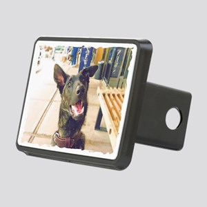 Dutch Shepherd Rectangular Hitch Cover
