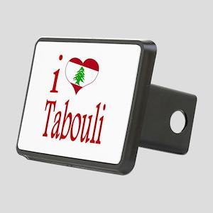 I Love Tabouli Tabuli Rectangular Hitch Cover