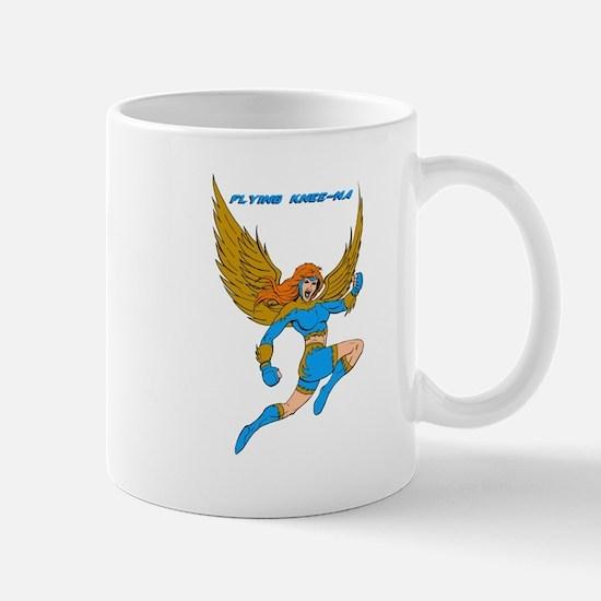 Flying Knee-Na Mug