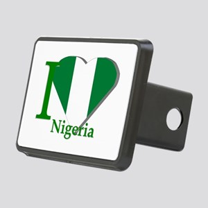 I love Nigeria Rectangular Hitch Cover