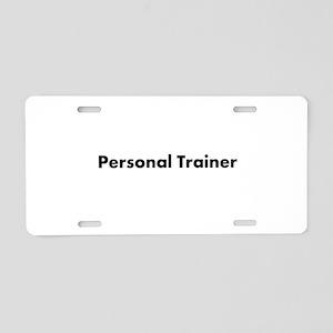 Personal Trainer Aluminum License Plate