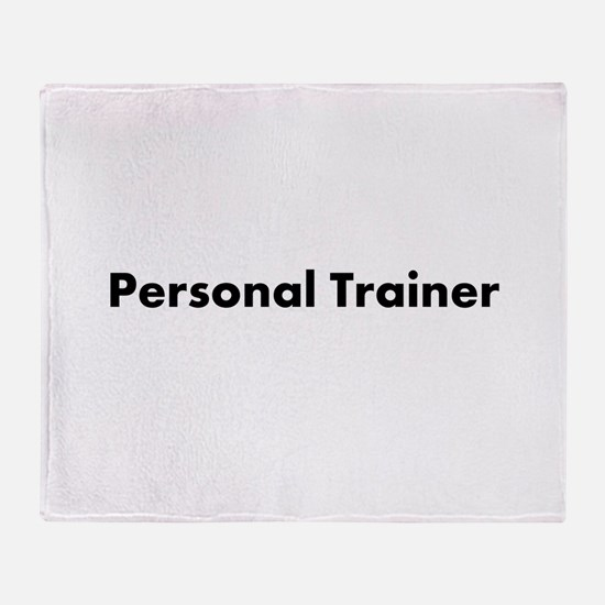 Personal Trainer Throw Blanket