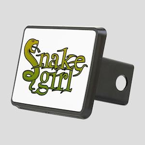 Snake Girl Rectangular Hitch Cover