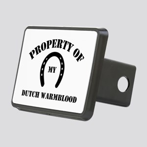 My Dutch Warmblood Rectangular Hitch Cover