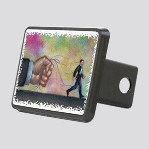 Office Art Rectangular Hitch Cover