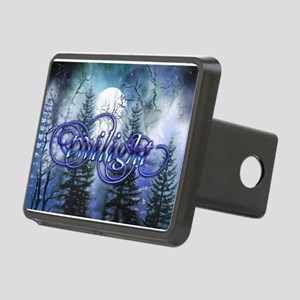 Moonlight Twilight Forest Rectangular Hitch Cover