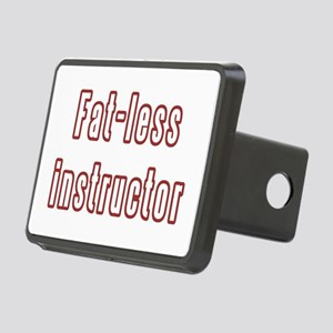 Fat-less Instructor Rectangular Hitch Cover