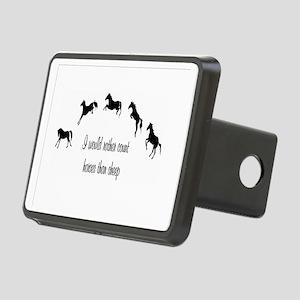 Horse Rectangular Hitch Coverle)