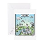 Ewe-topia Greeting Cards (Pk of 10)