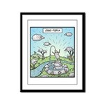Ewe-topia Framed Panel Print
