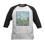 Ewe-topia Kids Baseball Jersey