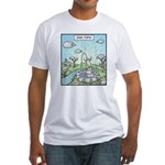Ewe-topia Fitted T-Shirt