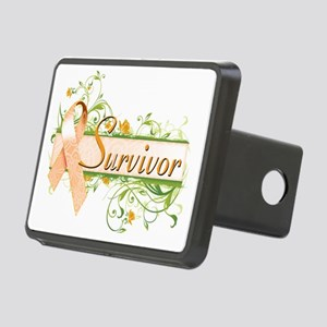 Survivor Floral Rectangular Hitch Coverle)