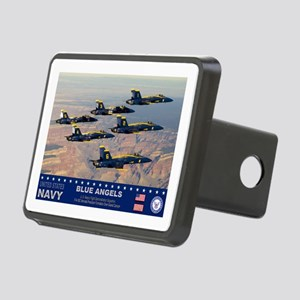 Blue Angel's F-18 Hornet Rectangular Hitch Cover