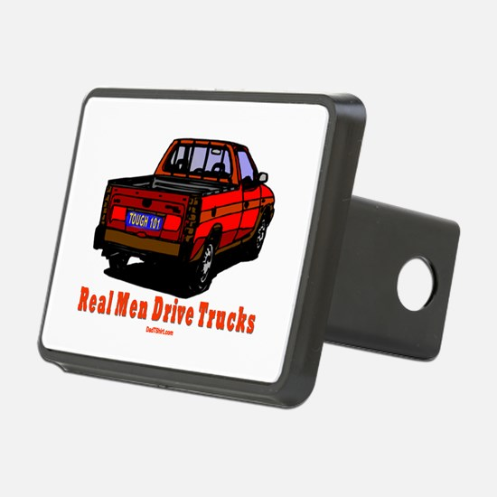 Real Men Drive Trucks Hitch Cover