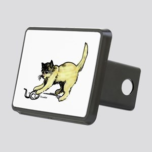 Kitty Mouse Rectangular Hitch Cover
