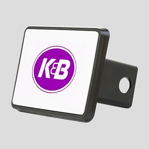 K&B Retro Rectangular Hitch Cover