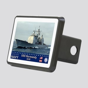 USS Normandy CG-60 Rectangular Hitch Cover