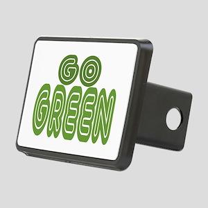 Go Green Rectangular Hitch Cover