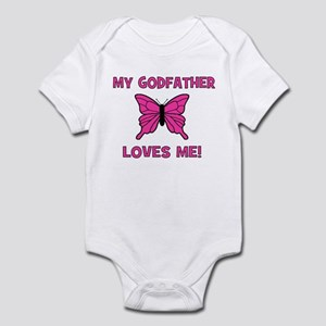 My Godfather Loves Me! - Butt Infant Creeper