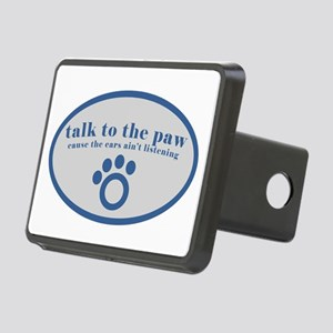 Talk to the Paw Rectangular Hitch Cover