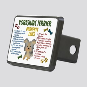 Yorkshire Terrier Property Laws 4 Rectangular Hitc