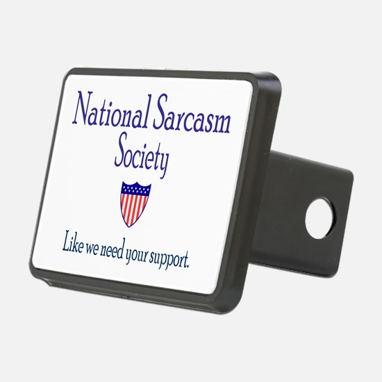 National Sarcasm Society Hitch Cover