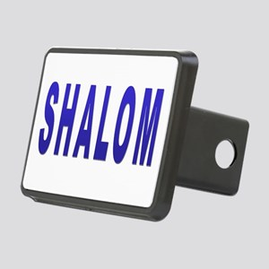 JEWISH SHALOM HEBREW Rectangular Hitch Cover