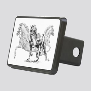 Elegant Horse Rectangular Hitch Cover