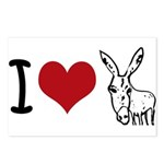 I heart... Postcards (Package of 8)