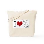 I heart... Tote Bag