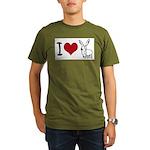 I heart... Organic Men's T-Shirt (dark)