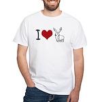 I heart... White T-Shirt