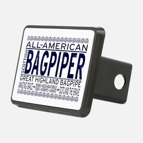 All American Bagpiper Hitch Cover