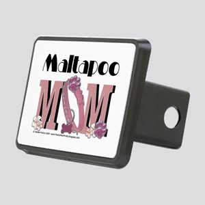 Maltapoo MOM Rectangular Hitch Cover