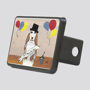 BabyBob Happy New Year Rectangular Hitch Cover