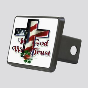 IN GOD WE TRUST Rectangular Hitch Coverle)