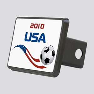 Soccer 2010 USA Rectangular Hitch Coverle)