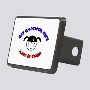 ALL AMERICAN GIRL Rectangular Hitch Cover